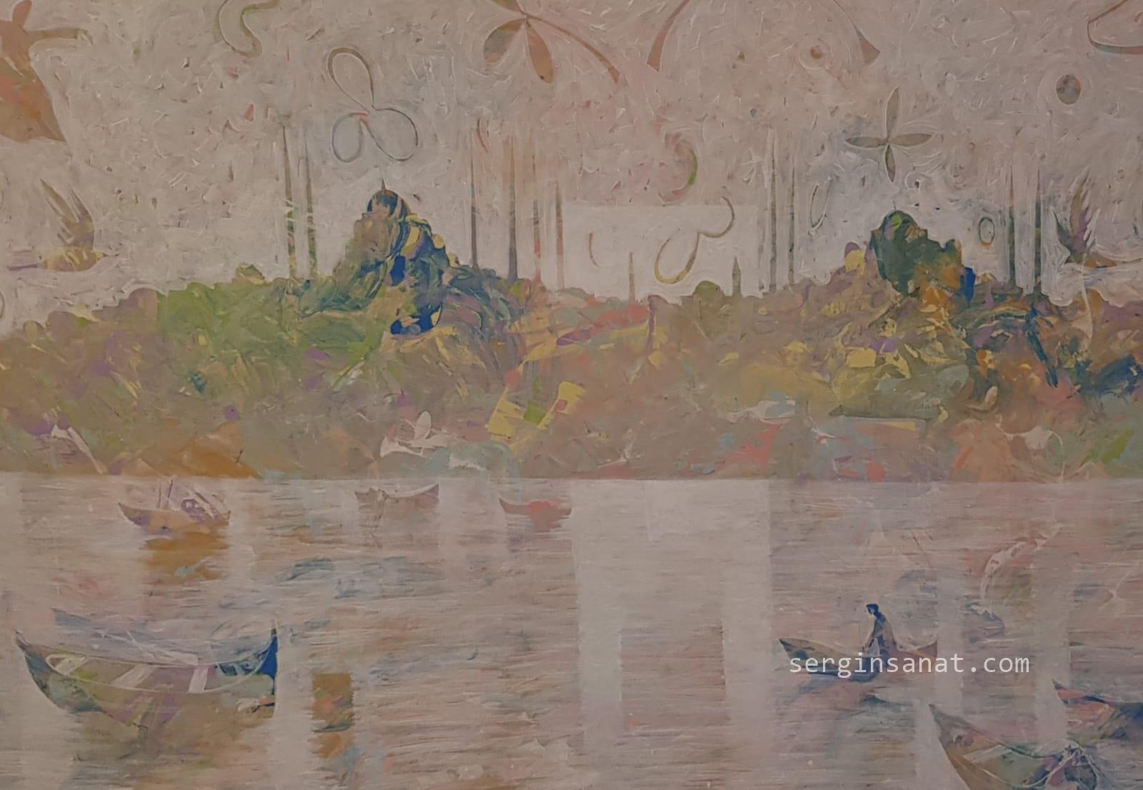 Memduh KUZAY || 130x160 cm.